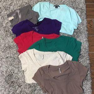 Shirt bundle of 7 shirts size M